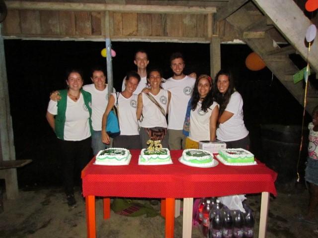 Photo : L'équipe Urabá lors de la célébration des 25 de PBI en Colombie – septembre 2019